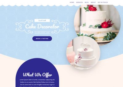 Website In a Box – Cakemaker
